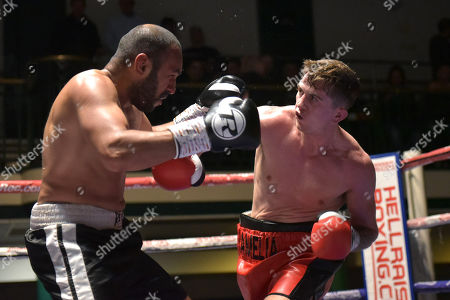 Editorial photo of Mickey Helliet Show, Boxing, York Hall, Bethnal Green, London, United Kingdom - 06 Oct 2018