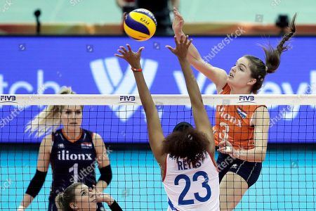 Editorial picture of The Netherlands vs Puerto Rico, Nagoya, Japan - 07 Oct 2018