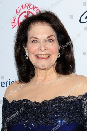 US film producer Sherry Lansing arrives for the 2018 Carousel of Hope Ball at The Beverly Hilton in Beverly Hills, California, USA, 06 October 2018 (issued 07 October 2018). The event raises funds for the Barbara Davis Center for Diabetes.