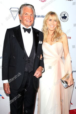 US actors George Hamilton (L) and Alana Stewart arrive for the 2018 Carousel of Hope Ball at The Beverly Hilton in Beverly Hills, California, USA, 06 October 2018 (issued 07 October 2018). The event raises funds for the Barbara Davis Center for Diabetes.