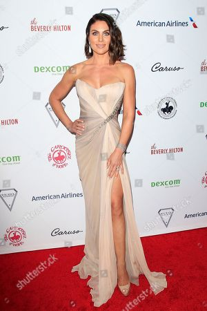 US actress Nadia Bjorlin arrives for the 2018 Carousel of Hope Ball at The Beverly Hilton in Beverly Hills, California, USA, 06 October 2018 (issued 07 October 2018). The event raises funds for the Barbara Davis Center for Diabetes.