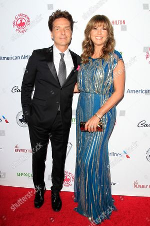 US musician Richard Marx and wife Daisy Fuentes arrive for the 2018 Carousel of Hope Ball at The Beverly Hilton in Beverly Hills, California, USA, 06 October 2018 (issued 07 October 2018). The event raises funds for the Barbara Davis Center for Diabetes.