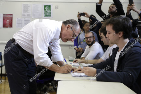 Editorial picture of General elections in Brazil, Sao Paulo - 07 Oct 2018