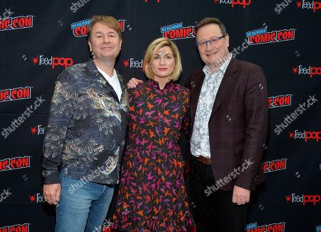 Editorial picture of 'Doctor Who' TV show panel, New York Comic Con, USA - 07 Oct 2018