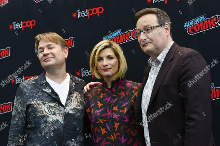 Editorial image of 'Doctor Who' TV show panel, New York Comic Con, USA - 07 Oct 2018