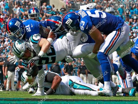 Editorial image of Giants Panthers Football, Charlotte, USA - 07 Oct 2018