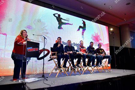Editorial image of 'Cobra Kai' TV show panel, New York Comic Con, USA - 07 Oct 2018