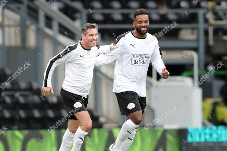 Dean Gaffney and Darren bent