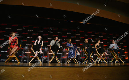 Coby Bell Amy Acker, Emma Dumont, Sean Teale, Jamie Chung, Coby Bell, Grace Gealey and Matt Nix