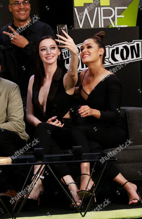 Coby Bell, Emma Dumont and Grace Gealey