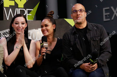 Emma Dumont, Grace Gealey and Coby Bell