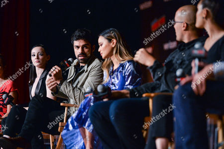 Editorial photo of 'The Gifted' TV show panel, New York Comic Con, USA - 07 Oct 2018