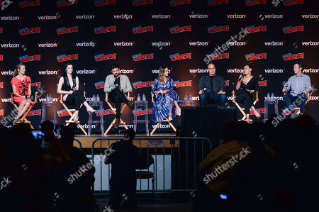 Stock Photo of Amy Acker, Emma Dumont, Sean Teale, Jamie Chung, Coby Bell, Grace Gealey, Matt Nix