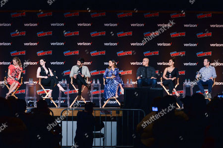 Stock Picture of Amy Acker, Emma Dumont, Sean Teale, Jamie Chung, Coby Bell, Grace Gealey, Matt Nix