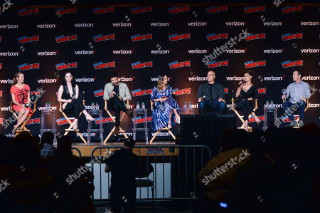 Editorial picture of 'The Gifted' TV show panel, New York Comic Con, USA - 07 Oct 2018