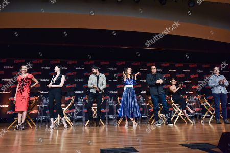 Editorial image of 'The Gifted' TV show panel, New York Comic Con, USA - 07 Oct 2018