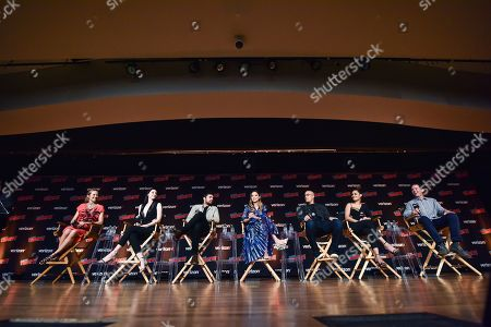 Stock Image of Amy Acker, Emma Dumont, Sean Teale, Jamie Chung, Coby Bell, Grace Gealey, Matt Nix