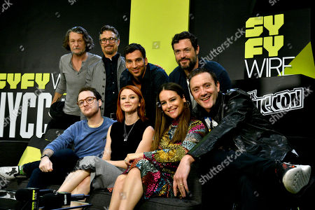 Stock Picture of Peter Serafinowicz, Griffin Newman, Valorie Curry, Scott Speiser, Yara Martinez, Ben Edlund, Barry Josephson