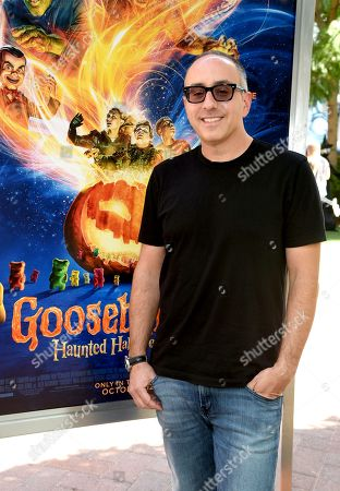 Rob Lieber attends a special screening of Columbia Pictures and Sony Pictures Animation's 'Goosebumps 2: Haunted Halloween' on the Sony Pictures Studio Lot.