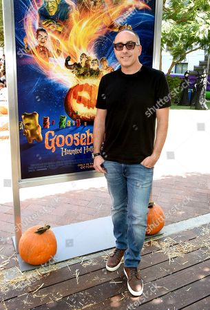 Stock Image of Rob Lieber attends a special screening of Columbia Pictures and Sony Pictures Animation's 'Goosebumps 2: Haunted Halloween' on the Sony Pictures Studio Lot.