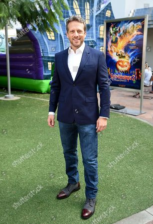 Ari Sandel attends a special screening of Columbia Pictures and Sony Pictures Animation's 'Goosebumps 2: Haunted Halloween'on the Sony Pictures Studio Lot.