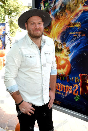 Dominic Lewis attends a special screening of Columbia Pictures and Sony Pictures Animation's 'Goosebumps 2: Haunted Halloween'on the Sony Pictures Studio Lot.