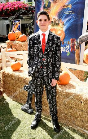 Peyton Wich attends a special screening of Columbia Pictures and Sony Pictures Animation's 'Goosebumps 2: Haunted Halloween'on the Sony Pictures Studio Lot.