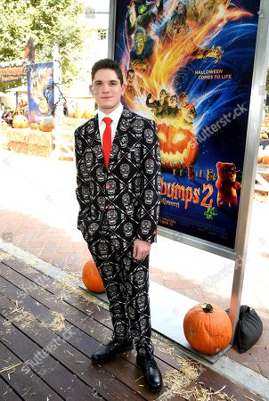 Stock Image of Peyton Wich attends a special screening of Columbia Pictures and Sony Pictures Animation's 'Goosebumps 2: Haunted Halloween'on the Sony Pictures Studio Lot.