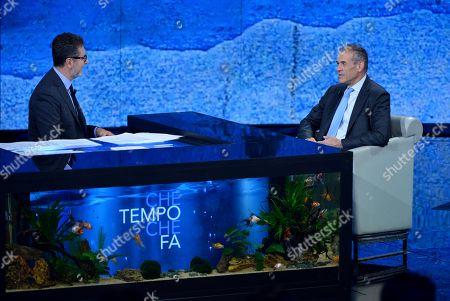 Fabio Fazio, Carlo Cottarelli