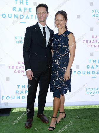 Jason Behr and wife KaDee Strickland