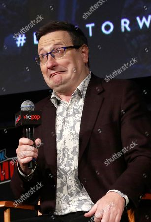 Stock Photo of Chris Chibnall