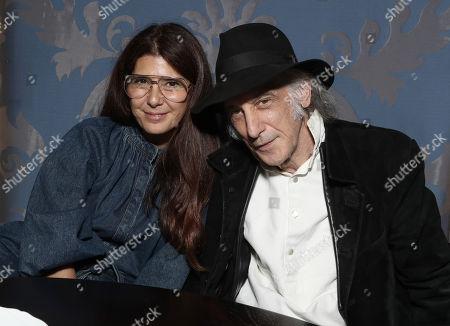 Marisa Tomei and Ed Lachman
