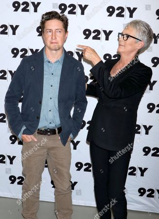 David Gordon Green and Jamie Lee Curtis