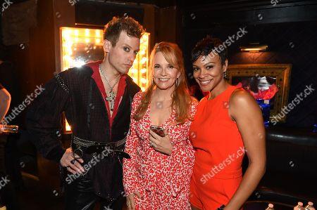 Lea Thompson, Barrett Foa and Carly Hughes