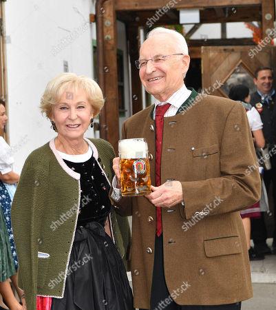 Edmund Stoiber, wife Karin