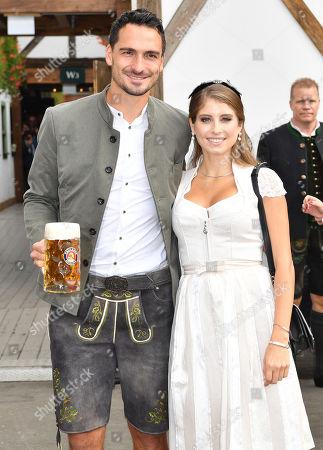 Mats Julian Hummels, wife Catherine Cathy Fischer-Hummels