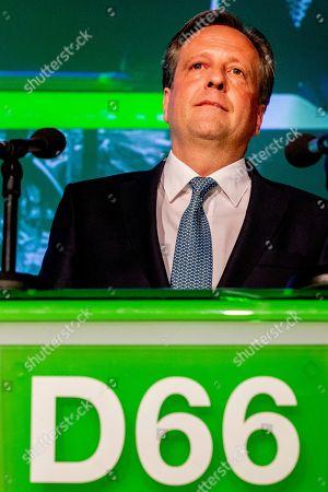 Dutch D66 leader Alexander Pechtold