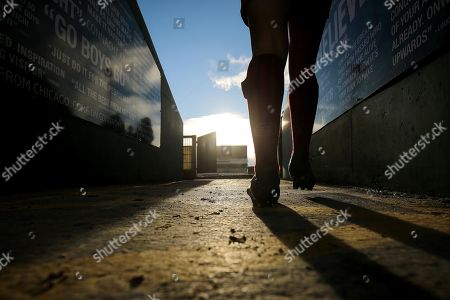 Women's Interprovincial, Sportsground, Galway 2/12/2017. Connacht Women vs Munster Women. Munster?s Rachel Allen walks onto the pitch
