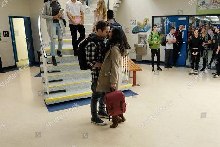 Callan Potter as Rob Tennison, Matreya Scarrwener as Sarah Collins