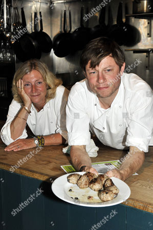 Stock Picture of Rosie Boycott and Oliver Rowe