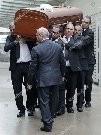 Editorial picture of Funeral of Monserrat Caballe, Barcelona, Spain - 08 Oct 2018