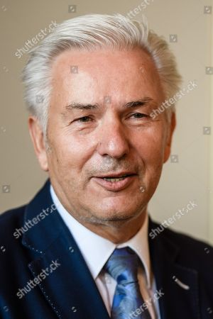 Former Berlin Governing Mayor Klaus Wowereit attends a lunch on the occasion of his 65th birthday, at the Berlin town hall 'Rotes Rathaus' in Berlin, Germany, 08 October 2018. Wowereit turned 65 on 01 October 2018. Berlin Governing Mayor Michael Mueller arranged a lunch on this occasion.