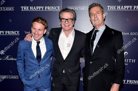 Editorial photo of 'The Happy Prince' film screening, Arrivals, New York, USA - 08 Oct 2018