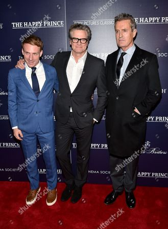 Stock Image of Edwin Thomas, Colin Firth and Rupert Everett