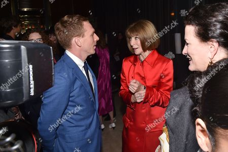 Editorial image of 'The Happy Prince' film screening, After Party, New York, USA - 08 Oct 2018