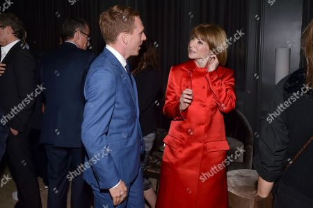 Editorial picture of 'The Happy Prince' film screening, After Party, New York, USA - 08 Oct 2018