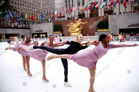 Editorial photo of Season Opening of The Rink at Rockefeller Center, New York, USA - 08 Oct 2018