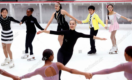 Editorial image of Season Opening of The Rink at Rockefeller Center, New York, USA - 08 Oct 2018