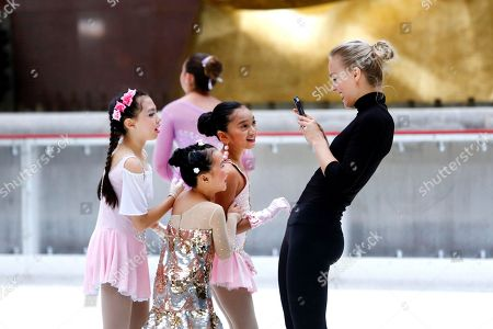 Editorial picture of Season Opening of The Rink at Rockefeller Center, New York, USA - 08 Oct 2018