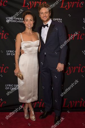 Lilian Matsuda and Nick Gehlfuss